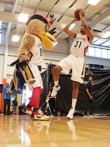 Pelicans Media Day Basketball