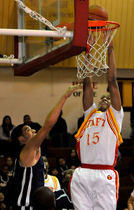 Talf defeated Birmingham 75-33 in a game played at Taft High School in Woodland Hills,, CA 1/20/2010 (John McCoy/Los Angeles Daily News)