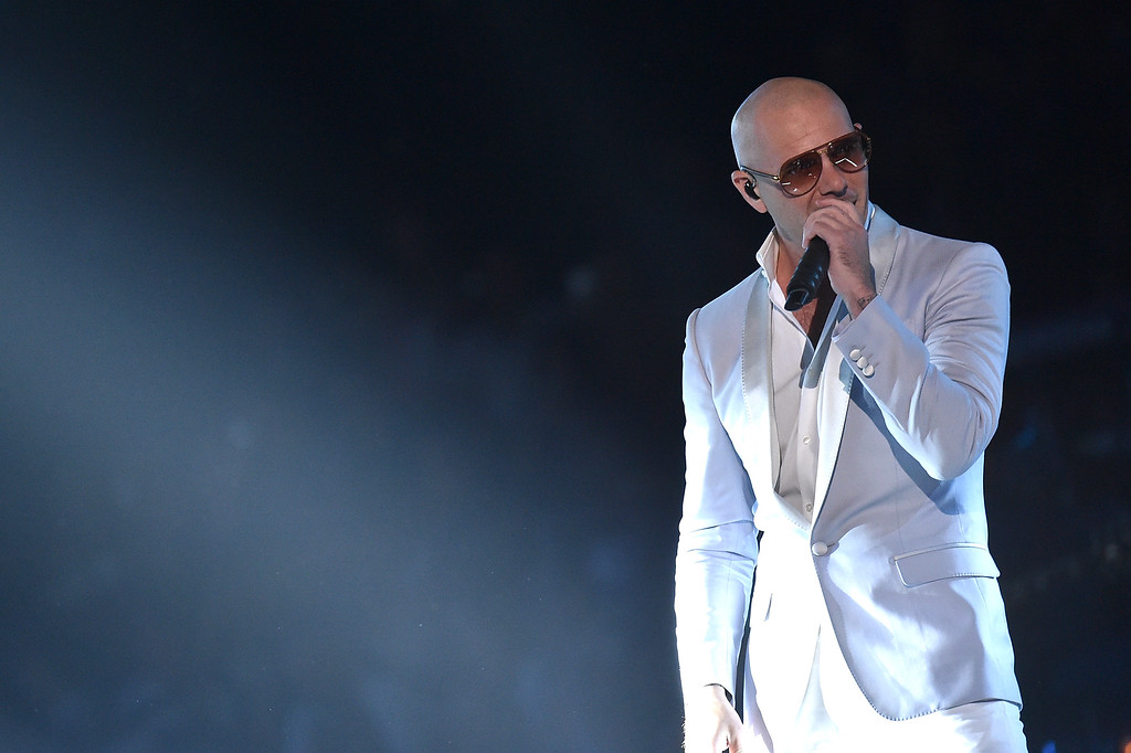 . NASHVILLE, TN - JUNE 08:  Pitbull onstage during the 2016 CMT Music awards at the Bridgestone Arena on June 8, 2016 in Nashville, Tennessee.  (Photo by Mike Coppola/Getty Images for CMT)
