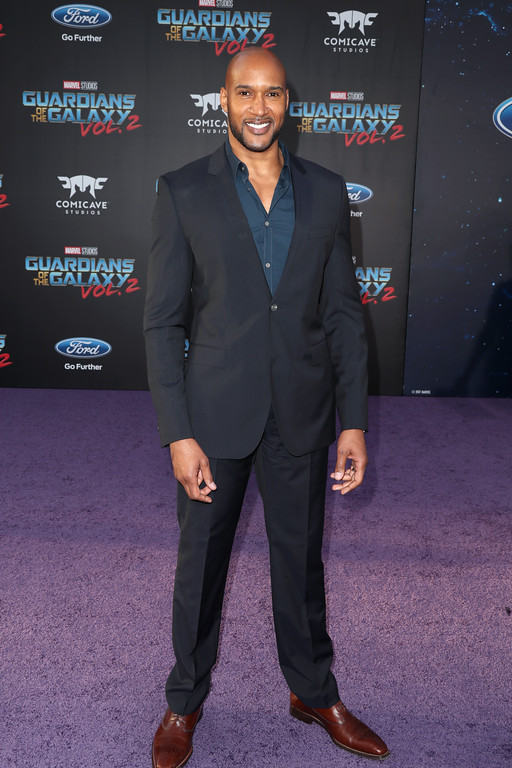 ". HOLLYWOOD, CA - APRIL 19:  Actor Henry Simmons at the premiere of Disney and Marvel\'s ""Guardians Of The Galaxy Vol. 2\"" at Dolby Theatre on April 19, 2017 in Hollywood, California.  (Photo by Frederick M. Brown/Getty Images)"