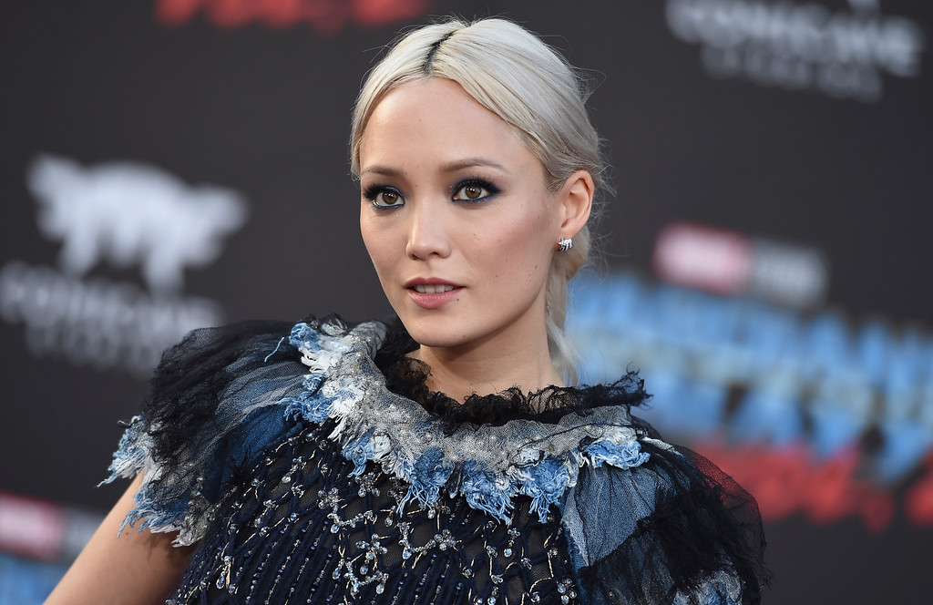 ". Pom Klementieff arrives at the world premiere of ""Guardians of the Galaxy Vol. 2\"" at the Dolby Theatre on Wednesday, April 19, 2017, in Los Angeles. (Photo by Jordan Strauss/Invision/AP)"