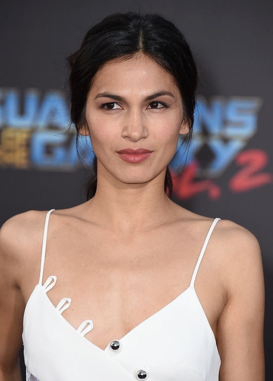 ". Elodie Yung arrives at the world premiere of ""Guardians of the Galaxy Vol. 2\"" at the Dolby Theatre on Wednesday, April 19, 2017, in Los Angeles. (Photo by Jordan Strauss/Invision/AP)"