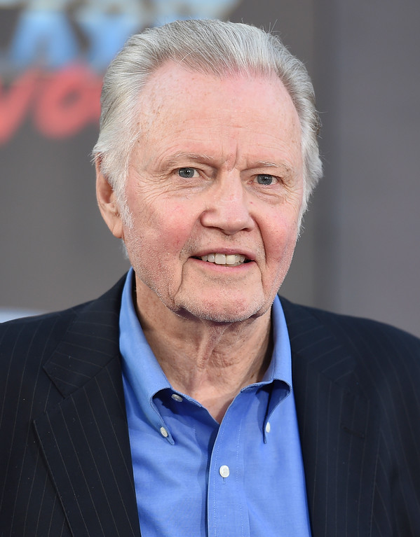 ". Jon Voight arrives at the world premiere of ""Guardians of the Galaxy Vol. 2\"" at the Dolby Theatre on Wednesday, April 19, 2017, in Los Angeles. (Photo by Jordan Strauss/Invision/AP)"
