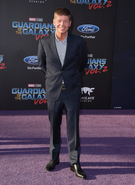 ". Rob Liefeld arrives at the world premiere of ""Guardians of the Galaxy Vol. 2\"" at the Dolby Theatre on Wednesday, April 19, 2017, in Los Angeles. (Photo by Jordan Strauss/Invision/AP)"