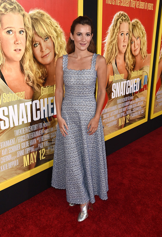 ". WESTWOOD, CA - MAY 10:  Actor Sarah Solemani attends the premiere of 20th Century Fox\'s ""Snatched\"" at Regency Village Theatre on May 10, 2017 in Westwood, California.  (Photo by Kevin Winter/Getty Images)"