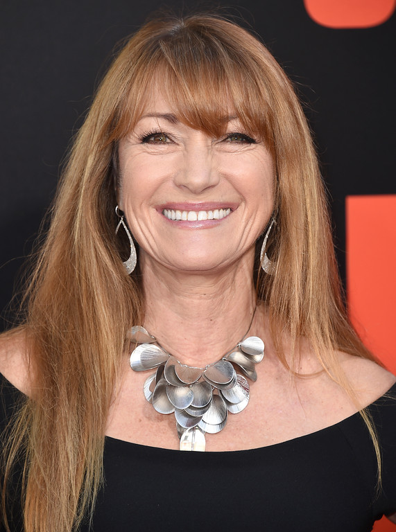 ". Jane Seymour arrives at the Los Angeles premiere of ""Snatched\"" at the Regency Village Theater on Wednesday, May 10, 2017. (Photo by Jordan Strauss/Invision/AP)"
