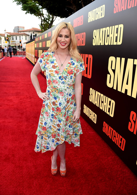 ". WESTWOOD, CA - MAY 10:  Buzzfeed\'s Kelsey Darragh attends the premiere of 20th Century Fox\'s ""Snatched\"" at Regency Village Theatre on May 10, 2017 in Westwood, California.  (Photo by Kevin Winter/Getty Images)"