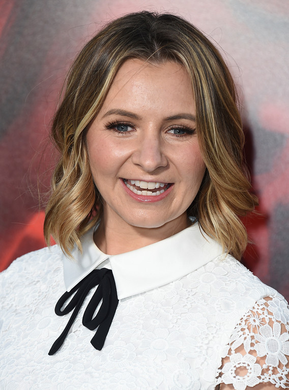 ". Beverley Mitchell arrives at the Los Angeles premiere of ""Unforgettable\"" at the TCL Chinese Theatre on Tuesday, April 18, 2017. (Photo by Jordan Strauss/Invision/AP)"