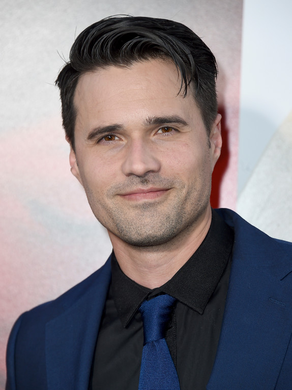 ". Brett Dalton arrives at the Los Angeles premiere of ""Unforgettable\"" at the TCL Chinese Theatre on Tuesday, April 18, 2017. (Photo by Jordan Strauss/Invision/AP)"
