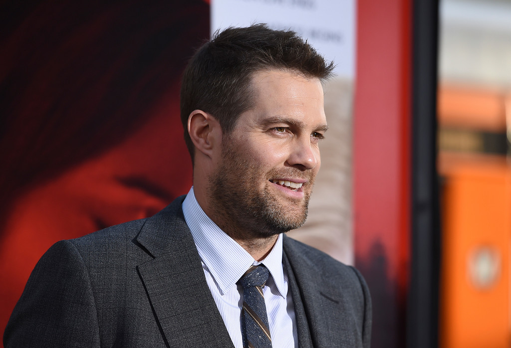 ". Geoff Stults arrives at the Los Angeles premiere of ""Unforgettable\"" at the TCL Chinese Theatre on Tuesday, April 18, 2017. (Photo by Jordan Strauss/Invision/AP)"