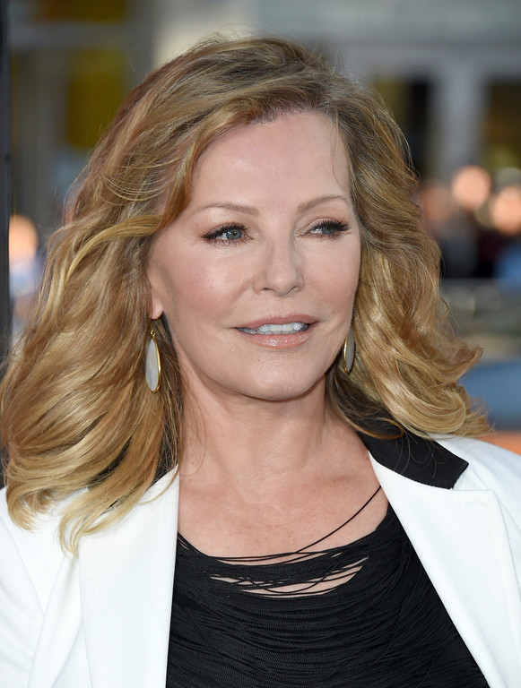 ". Cheryl Ladd arrives at the Los Angeles premiere of ""Unforgettable\"" at the TCL Chinese Theatre on Tuesday, April 18, 2017. (Photo by Jordan Strauss/Invision/AP)"