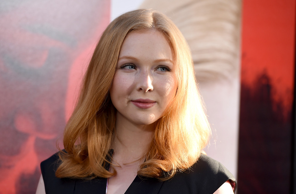 ". Molly Quinn arrives at the Los Angeles premiere of ""Unforgettable\"" at the TCL Chinese Theatre on Tuesday, April 18, 2017. (Photo by Jordan Strauss/Invision/AP)"