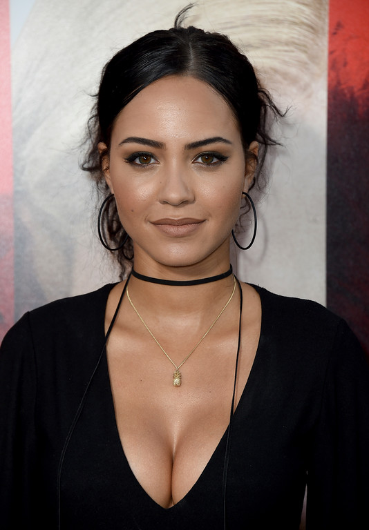 ". Tristin Mays arrives at the Los Angeles premiere of ""Unforgettable\"" at the TCL Chinese Theatre on Tuesday, April 18, 2017. (Photo by Jordan Strauss/Invision/AP)"