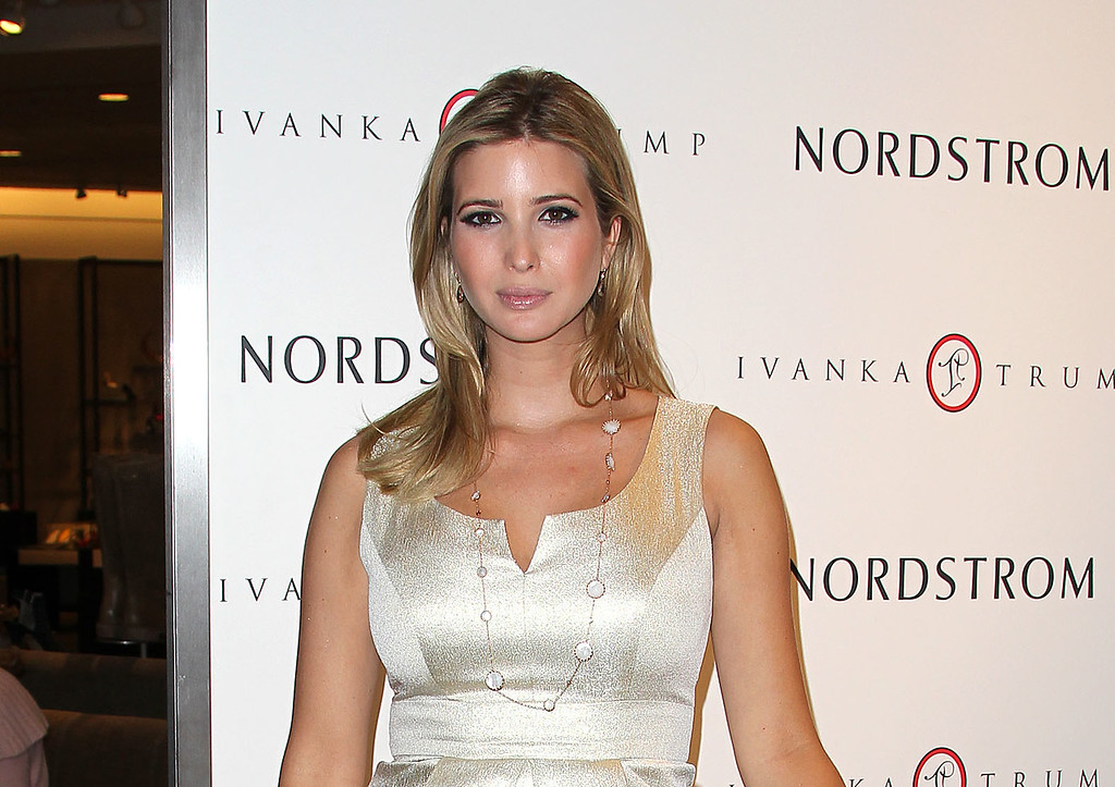 . File - Ivanka Trump attends the Launch of Her Spring 2011 Lifestyle Collection of Footwear at the Topanga Nordstrom on February 17, 2011 in Canoga Park, California. Nordstrom shares sunk after President Trump tweeted that the department store chain had treated his daughter �so unfairly� when it announced last week that it would stop selling Ivanka Trump�s clothing and accessory line.  (Photo by Frederick M. Brown/Getty Images)