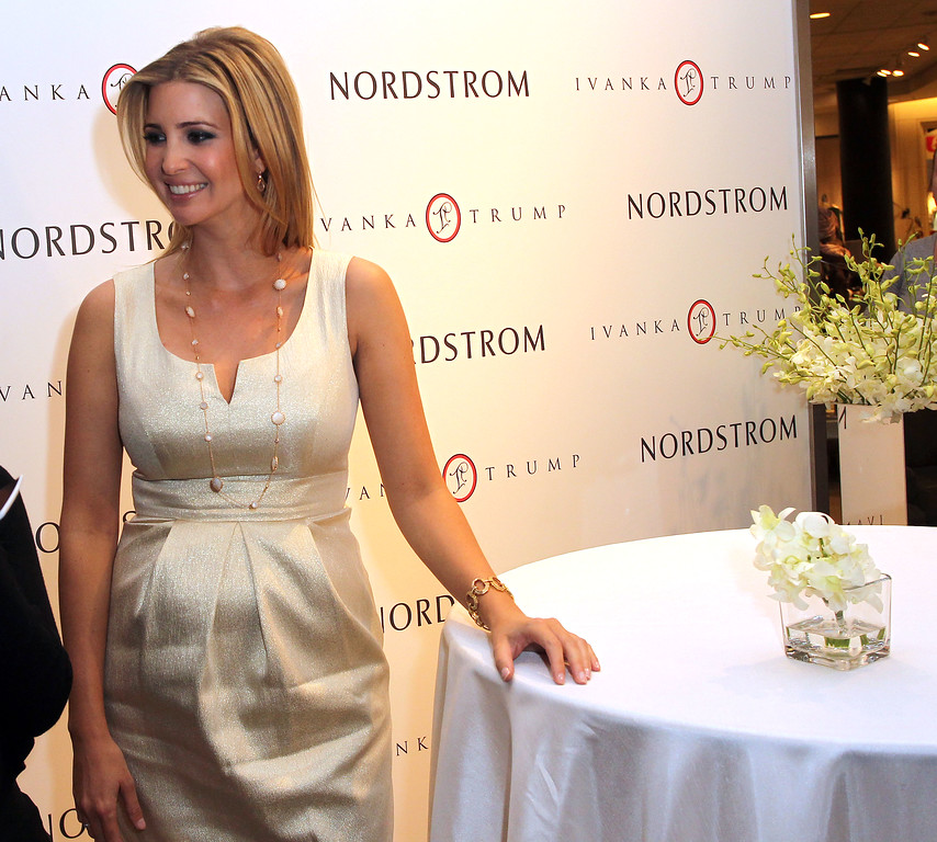 . File - Ivanka Trump attends the Launch of Her Spring 2011 Lifestyle Collection of Footwear at the Topanga Nordstrom on February 17, 2011 in Canoga Park, California.  (Photo by Frederick M. Brown/Getty Images)