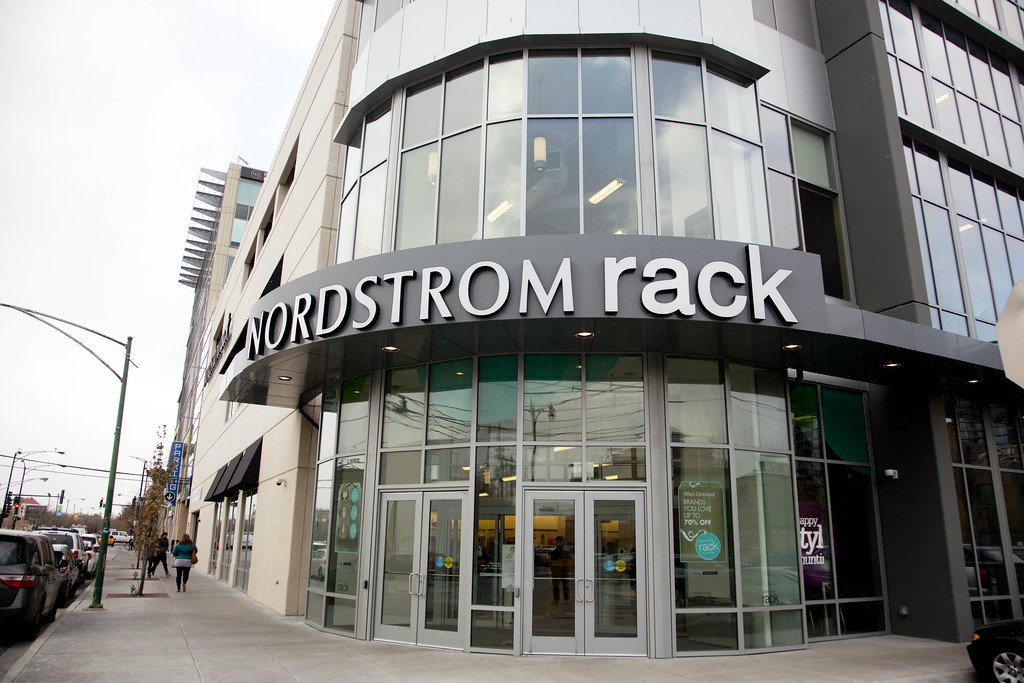 . General view of Nordstom Rack Department Store in Lincoln Park on November 17, 2014 in Chicago, Illinois.  Nordstrom shares sunk after President Trump tweeted that the department store chain had treated his daughter �so unfairly� when it announced last week that it would stop selling Ivanka Trump�s clothing and accessory line. (Photo by Tasos Katopodis/Getty Images for Nordstrom Inc.)