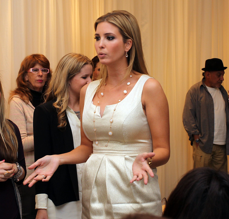 . CANOGA PARK, CA - FEBRUARY 17:  Ivanka Trump attends the Launch of Her Spring 2011 Lifestyle Collection of Footwear at the Topanga Nordstrom on February 17, 2011 in Canoga Park, California.  (Photo by Frederick M. Brown/Getty Images)