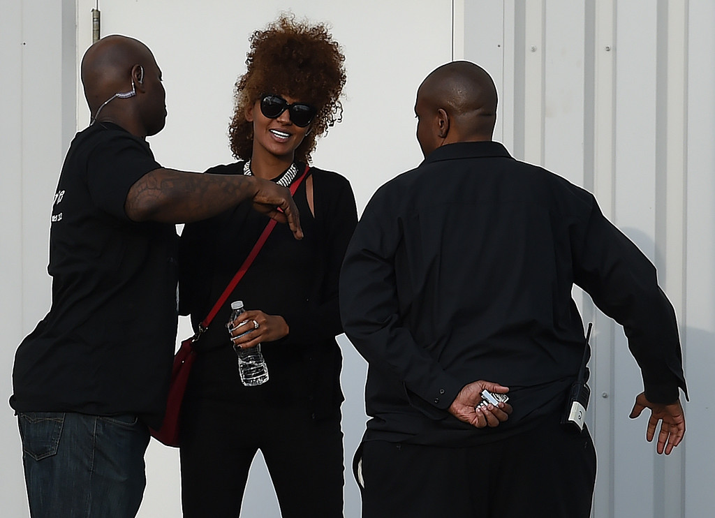 . Guests leave April 23, 2016 following a memorial service inside the Paisley Park compound of music legend Prince, who died suddenly at the age of 57, in Minneapolis, Minnesota.  Family, friends and musicians attended the service after the remains of Prince were cremated before being placed in a private location. ( MARK RALSTON/AFP/Getty Images)