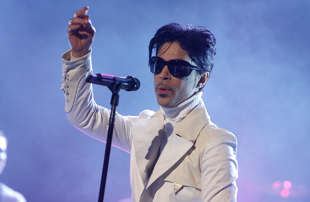 . File - Singer Prince performs onstage during the 2007 NCLR ALMA Awards held at the Pasadena Civic Auditorium on June 1, 2007 in Pasadena, California.  Prince died at his home in Minnesota, Thursday, April 21, 2016. He was 57.   (Photo by Kevin Winter/Getty Images for NCLR)