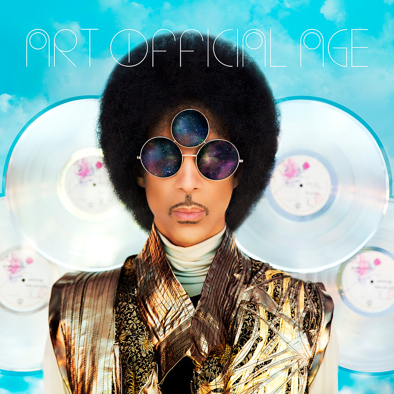 """. This CD cover image released by Warner Bros. Records shows \""""Art Official Age,\"""" by Prince. (AP Photo/Warner Bros. Records)"""