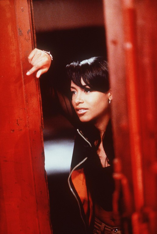 . Aaliyah (as Trish O\'\'Day) stars in \'Romeo Must Die.\' (Photo credit: Kharen Hill 2000 Warner Bros./Getty Images)
