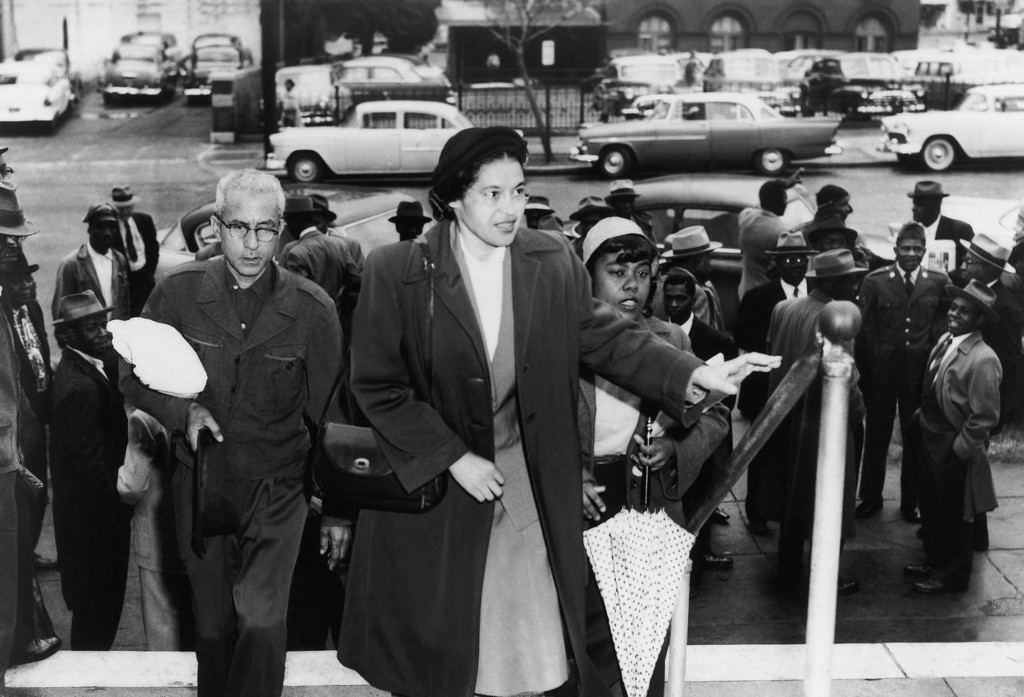 . Rosa Parks in an undated photo. (AP Photo)