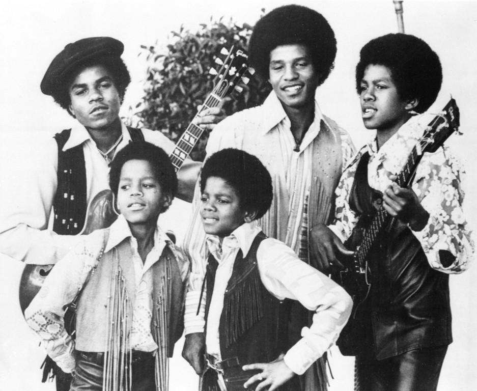 . In this undated file photo, the Jackson 5, Michael Jackson, front right, Marlon Jackson, front left, Tito Jackson, back left, Jackie Jackson and Jermaine, back right, are shown in Los Angeles.  (AP Photo, File)