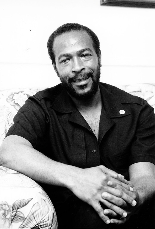 . File - This is an undated photo of soul singer Marvin Gaye in New York City.  (AP Photo)
