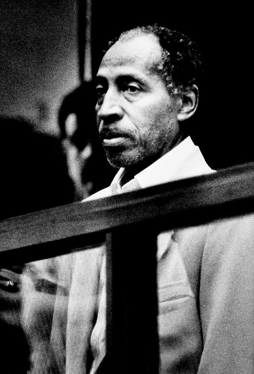 . Marvin Gaye Sr. stands in a courtroom during what was to be his arraignment on charges that he shot and killed his son, singer Marvin Gaye Jr., Wednesday, April 5, 1984, Los Angeles, Calif.  (AP Photo/Heung Shing Liu)