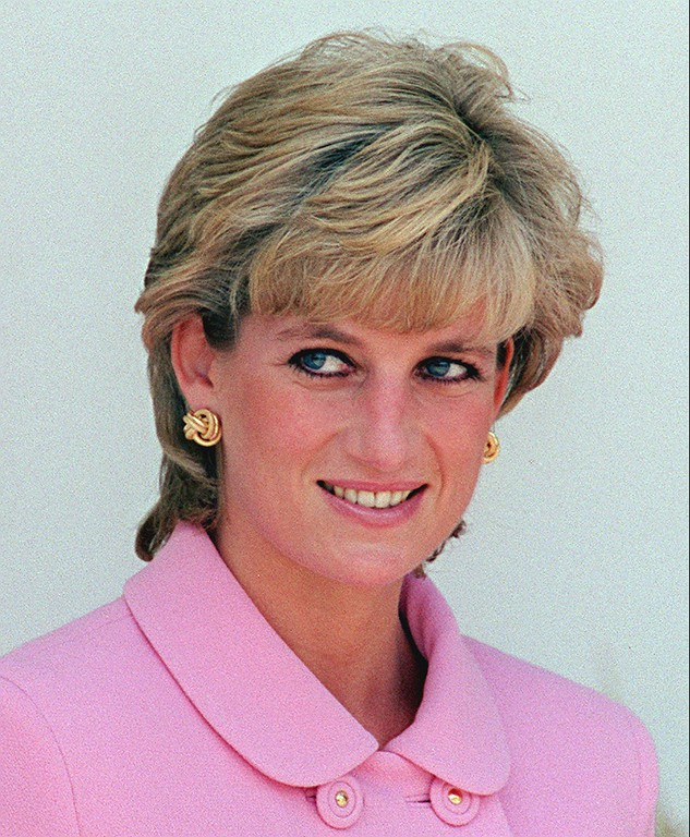 . Diana, Princess of Wales, shown in this November, 1995 file photo. The Princess of Wales, died in a car crash in Paris on Sunday Aug. 31, 1997. Her friend, Dodi Fayed, and the chauffeur were also killed. (AP Photo/Eduardo Di Baia)