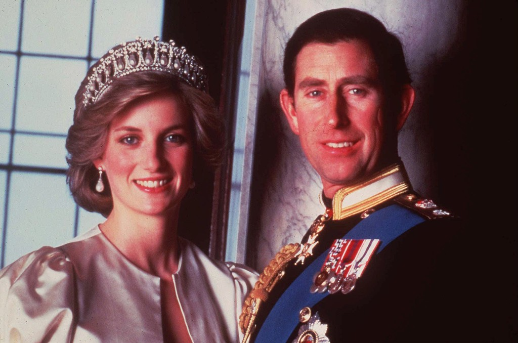 . Britain\'s Prince Charles and Princess Diana, Princes of Wales, in this official 1985 photograph. (AP Photo/HO)