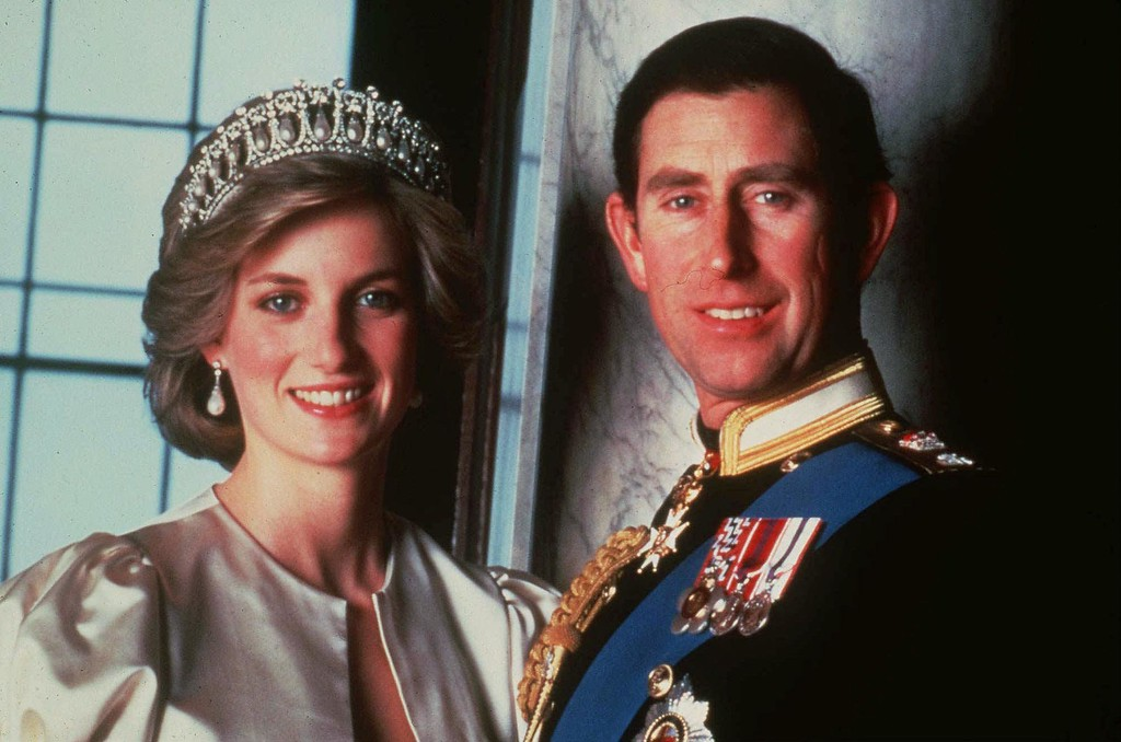 . File - Britain\'s Prince Charles and Princess Diana, Princes of Wales, in this official 1985 photograph. (AP Photo/File)