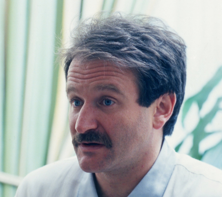 . Actor Robin Williams shown in 1989. (AP Photo)