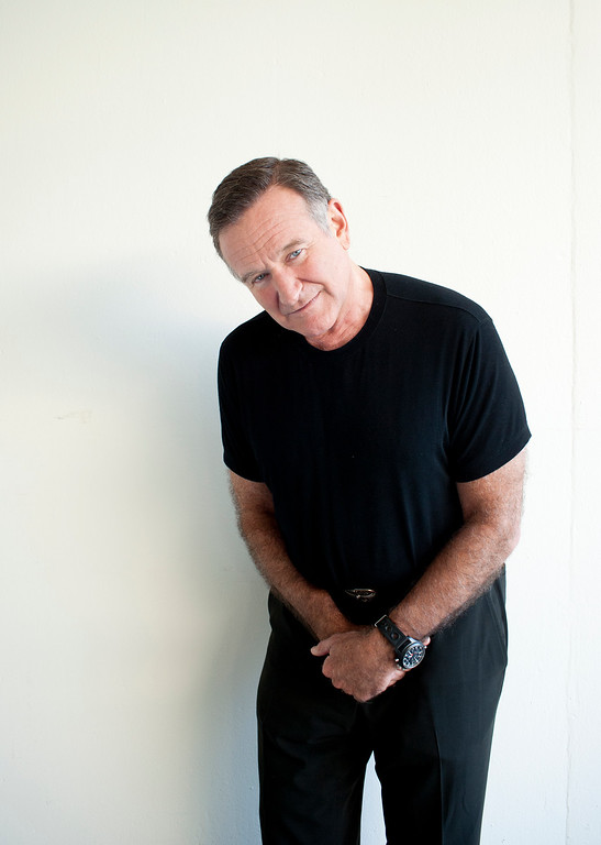 . Actor Robin Williams poses for a portrait during the Happy Feet Press Junket in Beverly Hills, Calif. on Saturday, Nov. 5, 2011. (Dan Steinberg/Invision/AP Images)