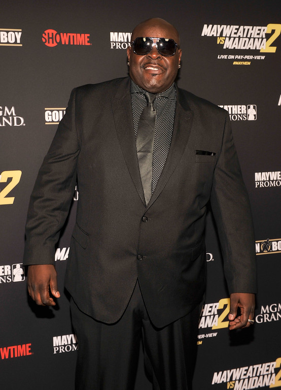 ". File - Television personality Christopher ""Big Black\"" Boykin arrives at Showtime\'s VIP prefight party for \""Mayhem: Mayweather vs. Maidana 2\"" at the MGM Grand Garden Arena on September 13, 2014 in Las Vegas, Nevada.  Boykin, best known for his role on MTV�s �Rob & Big,� died Tuesday, May 9, 2017, of a heart attack, according to sources at People Magazine. Boykin starred in �Rob & Big� with Rob Dyrdek - former professional skateboarder turned MTV star. He was 45. (Photo by David Becker/Getty Images for SHOWTIME SPORTS)"