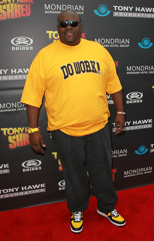 . BEVERLY HILLS, CA - OCTOBER 17:  TV personality/bodyguard Christopher Boykin aka Big Black attends the Tony Hawk Foundation benefit at the Green Acres Estate on October 17, 2010 in Beverly Hills, California.  (Photo by David Livingston/Getty Images)