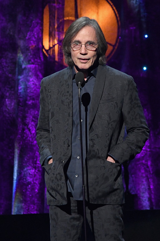 . NEW YORK, NY - APRIL 07:  Presenter, musician Jackson Browne speaks onstage at the 32nd Annual Rock & Roll Hall Of Fame Induction Ceremony at Barclays Center on April 7, 2017 in New York City. The event will broadcast on HBO Saturday, April 29, 2017 at 8:00 pm ET/PT  (Photo by Mike Coppola/Getty Images)
