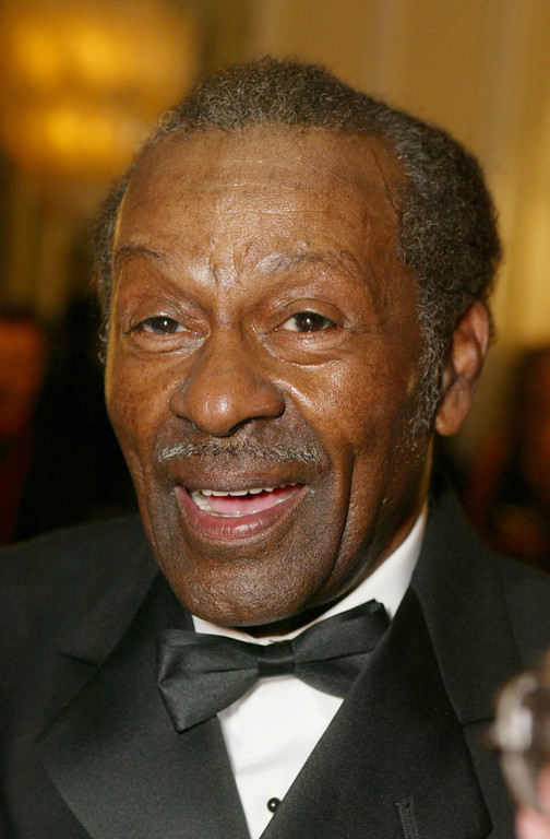 """. Chuck Berry at \""""The 50th Annual BMI Pop Awards\"""" at the Regent Beverly Wilshire Hotel in Beverly Hills, Ca. Tuesday, May 14, 2002. Photo by Kevin Winter/Getty Images."""