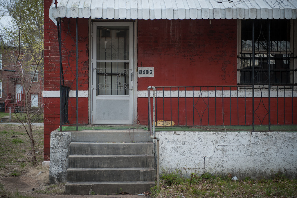 . ST. LOUIS, MO - MARCH 19:  The Chuck Berry House sits at 3137 Whittier Street in St. Louis, Missouri on March 19, 2017.  The house was added to the National Register of Historic Places in 2008 and it is the location where Berry wrote and composed some of his memorable songs. The rock \'n\' roll pioneer died on Saturday at the age of 90 at his home in a suburb of St. Louis, Missouri. (Photo by Michael B. Thomas/Getty Images)