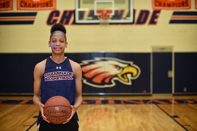 Play of the Year: Chaminade High School's Leaonna Odom is a McDonald's and Jordan Brand All-American.  Odom is one of the top girls basketball players in the nation and is heading to Duke. (Photo by Hans Gutknecht/Los Angeles Daily News)