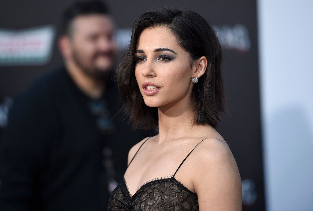 ". Naomi Scott arrives at the Los Angeles premiere of Saban\'s ""Power Rangers\"" at the Regency Westwood Village Theatre on Wednesday, March 22, 2017. (Photo by Chris Pizzello/Invision/AP)"