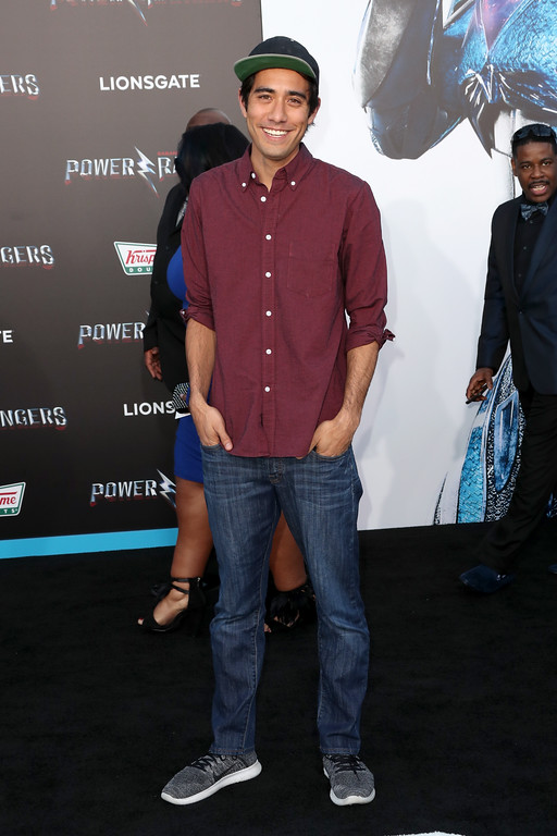 ". WESTWOOD, CA - MARCH 22:  Internet personality Zach King at the premiere of Lionsgate\'s ""Power Rangers\"" on March 22, 2017 in Westwood, California.  (Photo by Frederick M. Brown/Getty Images)"