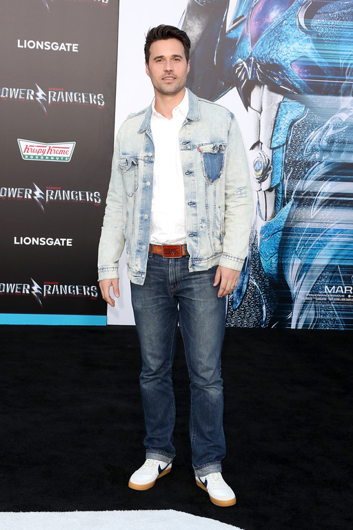 ". WESTWOOD, CA - MARCH 22:  Actor Brett Dalton at the premiere of Lionsgate\'s ""Power Rangers\"" on March 22, 2017 in Westwood, California.  (Photo by Frederick M. Brown/Getty Images)"