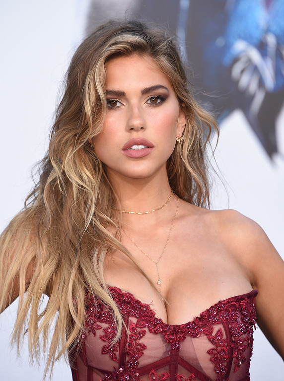 . Kara Del Toro attends the red carpet arrivals for the world premiere of Power Rangers at the Village theatre in Hollywood, California on March 22, 2017. / AFP PHOTO / CHRIS DELMAS        (Photo credit should read CHRIS DELMAS/AFP/Getty Images)