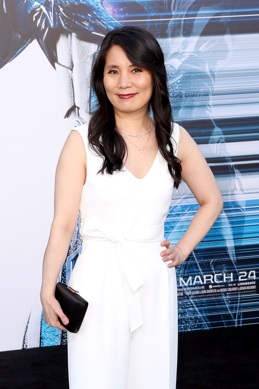 ". WESTWOOD, CA - MARCH 22:  Actor Fiona Fu at the premiere of Lionsgate\'s ""Power Rangers\"" on March 22, 2017 in Westwood, California.  (Photo by Frederick M. Brown/Getty Images)"
