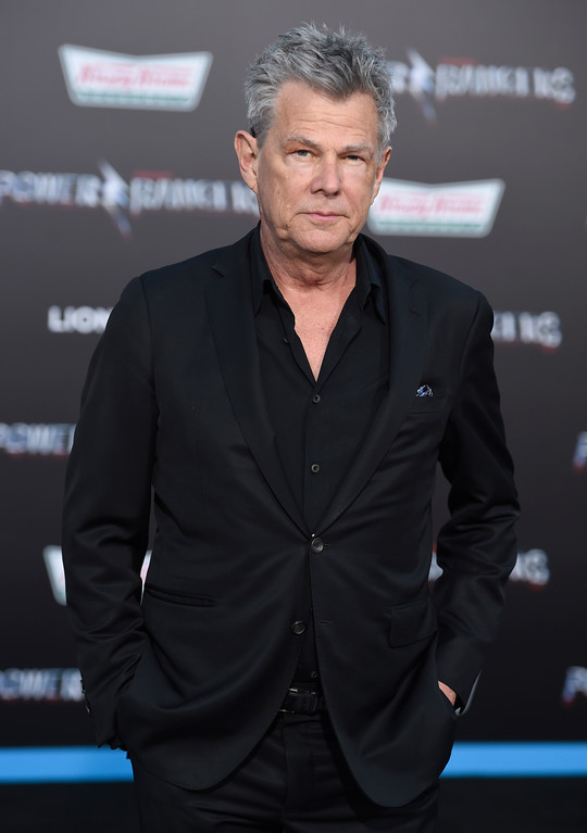 ". David Foster arrives at the Los Angeles premiere of Saban\'s ""Power Rangers\"" at the Regency Westwood Village Theatre on Wednesday, March 22, 2017. (Photo by Chris Pizzello/Invision/AP)"