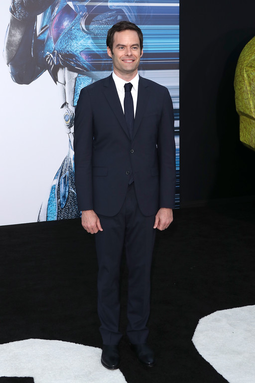 ". WESTWOOD, CA - MARCH 22:  Actor Bill Hader at the premiere of Lionsgate\'s ""Power Rangers\"" on March 22, 2017 in Westwood, California.  (Photo by Frederick M. Brown/Getty Images)"