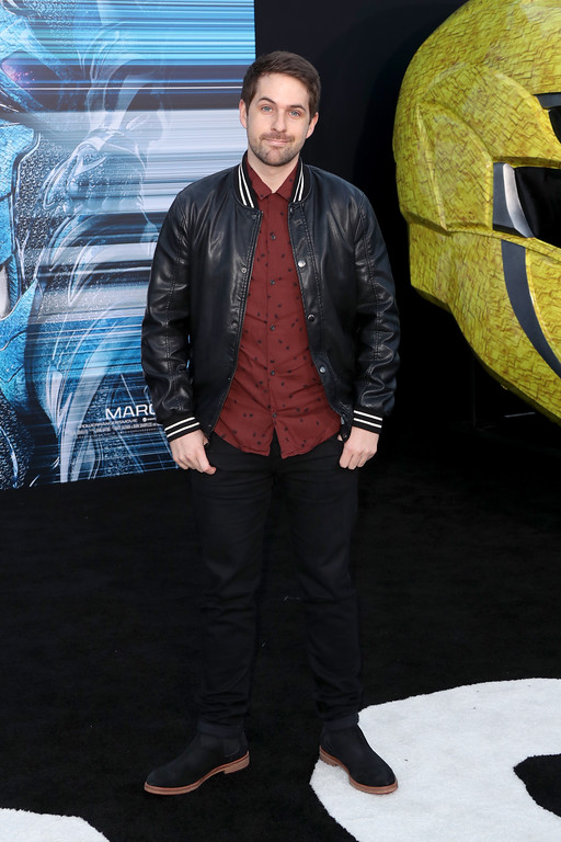 ". WESTWOOD, CA - MARCH 22:  Actor Ian Hecox at the premiere of Lionsgate\'s ""Power Rangers\"" on March 22, 2017 in Westwood, California.  (Photo by Frederick M. Brown/Getty Images)"