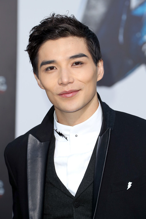 ". WESTWOOD, CA - MARCH 22:  Actor Ludi Lin at the premiere of Lionsgate\'s ""Power Rangers\"" on March 22, 2017 in Westwood, California.  (Photo by Frederick M. Brown/Getty Images)"
