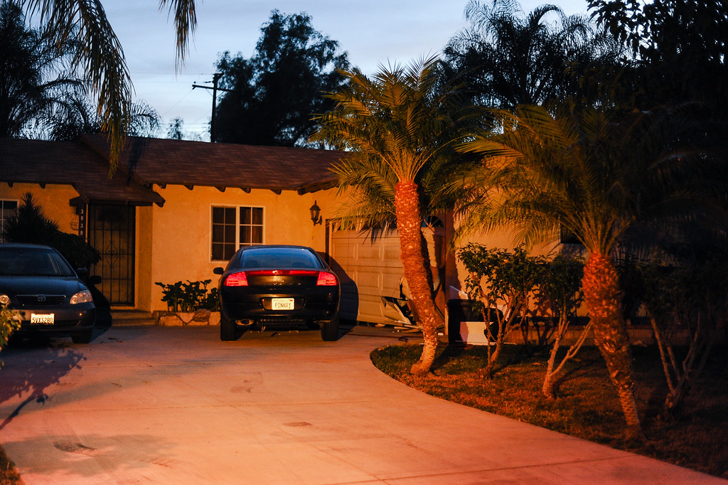 . FBI raided a home of a former neighbor of the San Bernardino terrorist shooter in Riverside, CA on Saturday, Dec. 5, 2015. The raid was part of an investigation into a person believe to have purchased some of the firearms used in the mass shooting, which left 14 people dead and 21 others injured. (Photo by Rachel Luna/The Sun)